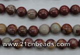 CNJ67 15.5 inches 8mm round noreena jasper beads wholesale
