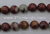 CNJ68 15.5 inches 10mm round noreena jasper beads wholesale