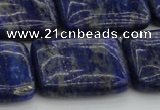 CNL1145 15.5 inches 18*25mm rectangle lapis lazuli gemstone beads