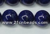 CNL1255 15.5 inches 12mm round natural lapis lazuli beads