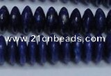 CNL1263 15.5 inches 5*12mm rondelle natural lapis lazuli beads