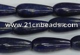CNL1512 15.5 inches 8*22mm teardrop lapis lazuli beads wholesale
