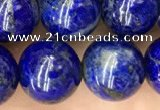 CNL1703 15.5 inches 10mm round lapis lazuli gemstone beads