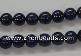 CNL209 15.5 inches 8mm round natural lapis lazuli beads wholesale