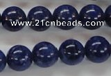 CNL223 15.5 inches 12mm round natural lapis lazuli beads wholesale