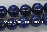 CNL230 15.5 inches 14mm round natural lapis lazuli beads wholesale