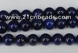 CNL403 15.5 inches 8mm round natural lapis lazuli gemstone beads