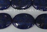 CNL485 15.5 inches 18*25mm oval natural lapis lazuli gemstone beads