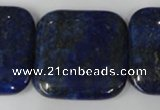 CNL518 15.5 inches 30*30mm square natural lapis lazuli gemstone beads