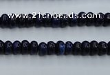 CNL610 15.5 inches 3*6mm rondelle natural lapis lazuli gemstone beads