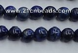 CNL713 15.5 inches 6mm round natural lapis lazuli gemstone beads