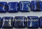 CNL770 15.5 inches 16*16mm square natural lapis lazuli gemstone beads