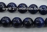 CNL854 15.5 inches 12mm round natural lapis lazuli gemstone beads