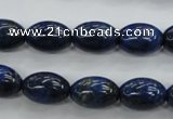 CNL895 15.5 inches 10*14mm rice natural lapis lazuli gemstone beads