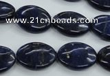 CNL944 15.5 inches 15*20mm oval natural lapis lazuli gemstone beads