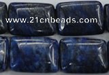 CNL976 15.5 inches 18*25mm rectangle natural lapis lazuli gemstone beads