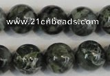 CNS403 15.5 inches 10mm round natural serpentine jasper beads