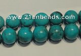 CNT148 15.5 inches 10mm round natural turquoise beads wholesale