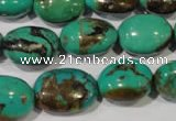 CNT265 15.5 inches 15*18mm nuggets natural turquoise beads wholesale