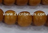 CNW05 15.5 inches 12mm round nangka wood beads wholesale