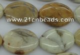 COP1111 15.5 inches 18*25mm oval African opal gemstone beads
