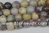 COP1511 15.5 inches 6mm round amethyst sage opal beads wholesale