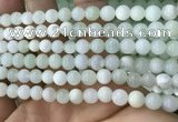 COP1635 15.5 inches 6mm round natural green opal beads