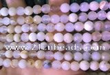 COP1666 15.5 inches 6mm faceted round white opal beads