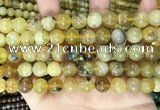 COP1761 15.5 inches 10mm round yellow opal beads wholesale