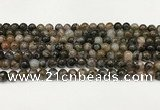 COP1800 15.5 inches 4mm round grey opal beads wholesale