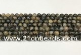 COP1801 15.5 inches 6mm round grey opal beads wholesale