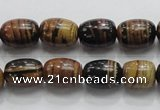 COP207 15.5 inches 10*14mm egg-shaped natural brown opal gemstone beads