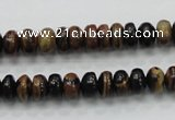 COP226 15.5 inches 5*8mm rondelle natural brown opal gemstone beads