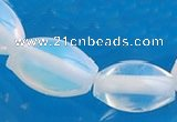 COP40 6*10mm translucent rice opal gemstone beads Wholesale