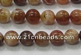 COP502 15.5 inches 10mm round natural red opal gemstone beads