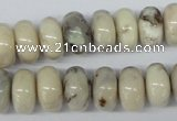 COP806 15.5 inches 10*16mm rondelle natural African opal beads