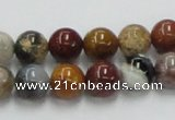 COS40 15.5 inches 10mm round ocean stone beads wholesale