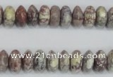 COT07 15.5 inches 5*10mm rondelle osmanthus stone beads