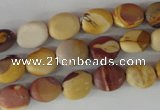 COV12 15.5 inches 8*10mm oval mookaite gemstone beads wholesale