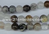COZ02 15.5 inches 8mm round opal quartz beads wholesale