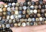 CPB1031 15.5 inches 8mm round pietersite beads wholesale