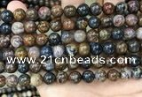 CPB1035 15.5 inches 8mm round pietersite gemstone beads