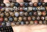 CPB1036 15.5 inches 10mm round pietersite gemstone beads