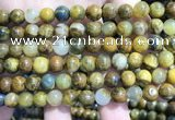CPB1052 15.5 inches 8mm round golden pietersite beads wholesale