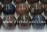 CPB1072 15.5 inches 8mm round peter stone beads wholesale