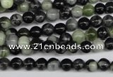 CPJ202 15.5 inches 6mm round green picasso jasper beads