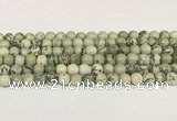 CPJ701 15.5 inches 6mm round greeting pine jasper beads