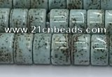 CPL105 15.5 inches 5*8mm wheel linden beads wholesale