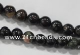 CPM01 15.5 inches 6mm round plum blossom jade beads wholesale