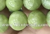 CPO46 15.5 inches 10mm round natural olivine gemstone beads